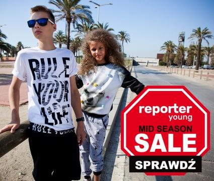 MID SEASON SALE! Rabaty do -60% w Reporter Young