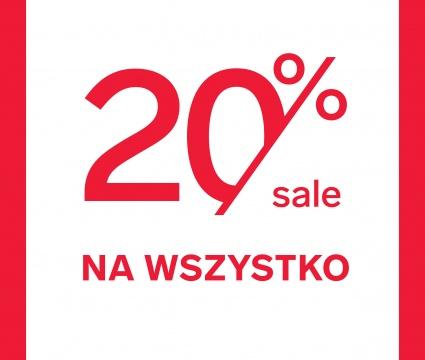 20% rabatu w sklepie 4F