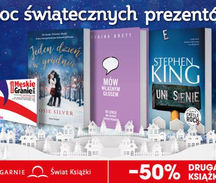 Druga książka o 50% taniej w Świat Książki!