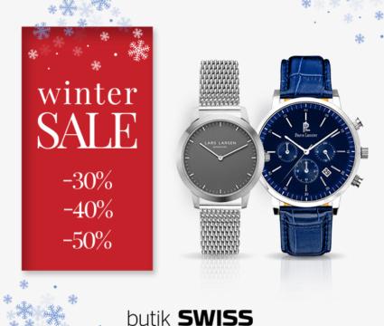 Zimowa wyprzedaż w butikach SWISS ruszyła! Nie przegap okazji!