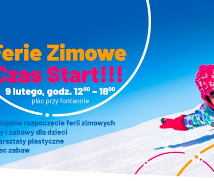 Ferie Zimowe Czas Start !!!