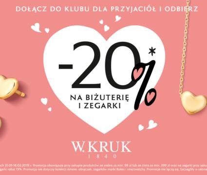 Walentynkowa promocja W.KRUK