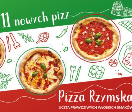 Nowości w Pizza Dominium! Pizza Rzymska