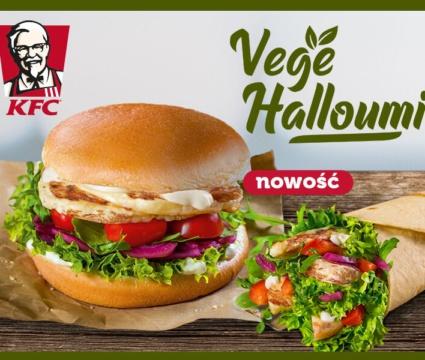 Vege Halloumi ! Nowość w KFC.