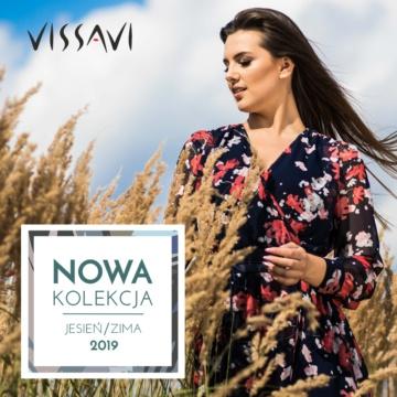 Pierwsze modele kolekcji Jesień 2019 już  dostępne w VISSAVI