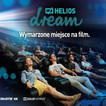 Helios w Galerii Rzeszów z salą Dream!