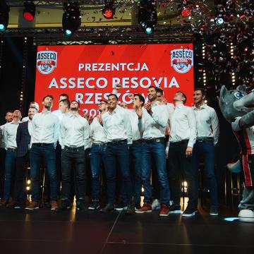 Prezentacja Asseco Resovii Rzeszów 22.10.2019 r.