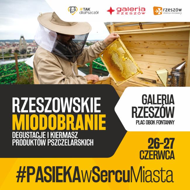 #PASIEKAwSercuMiasta – Rzeszowskie Miodobranie