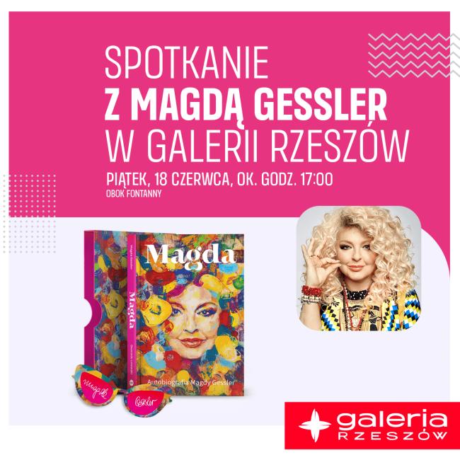 Spotkanie z MAGDĄ GESSLER w Galerii Rzeszów
