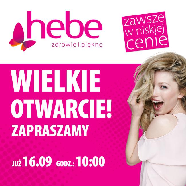 Otwarcie drogerii Hebe w Galerii Rzeszów!