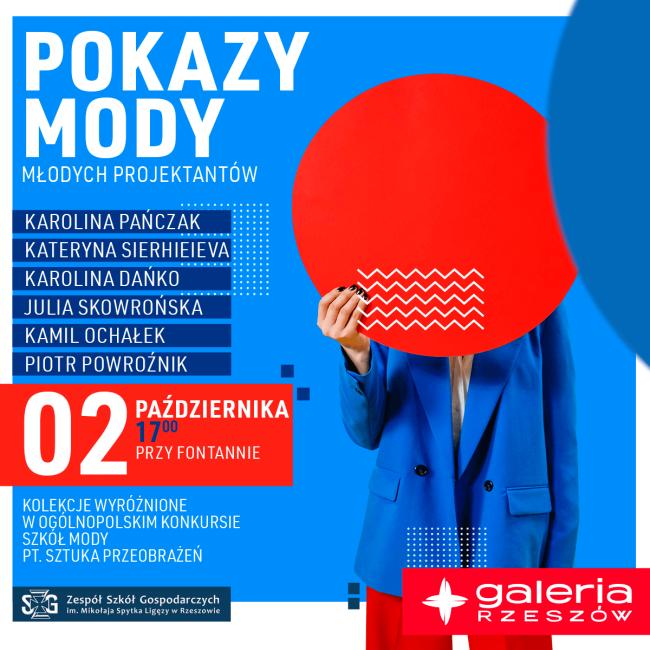 Pokazy MODY w Galerii Rzeszów
